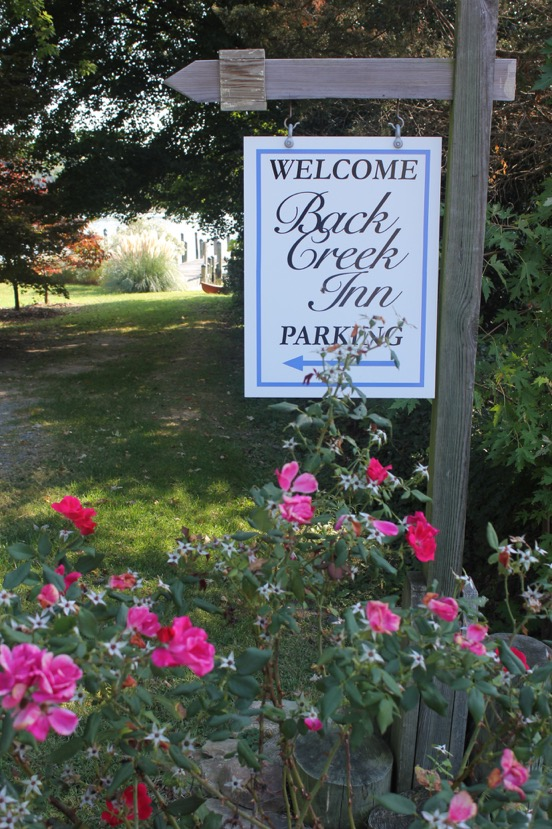 welcome to the back creek inn in solomons md